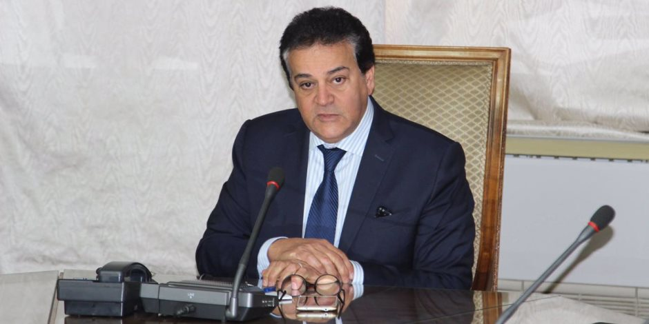 وزير التعليم العالي يبحث مع العالم المصري مصطفى السيد سبل التعاون مع جامعة جورجيا