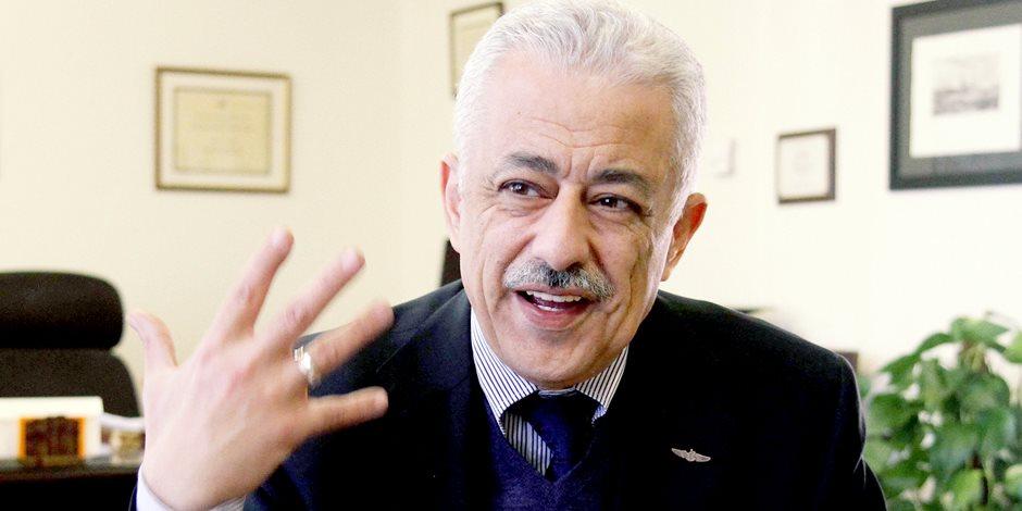 وزير التعليم عن مشاكل المعلمين: ورثتها وأحاول حلها