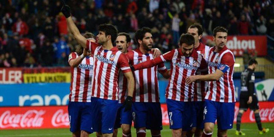 أتلتيكو مدريد يواجه روما في مهمة الحفاظ علي أمل «الصعود»