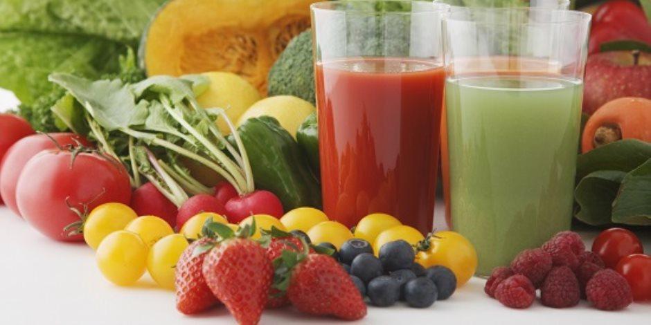 هل تسعى لانقاص وزنك؟.. عصير البطيخ والعنب الأحمر كلمة السر