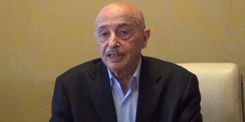 رئيس البرلمان الليبى: المخرج الوحيد لأزمة البلاد إجراء انتخابات رئاسية فى سبتمبر
