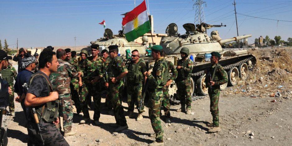 القوات العراقية تسيطر على مواقع جنوبي كركوك