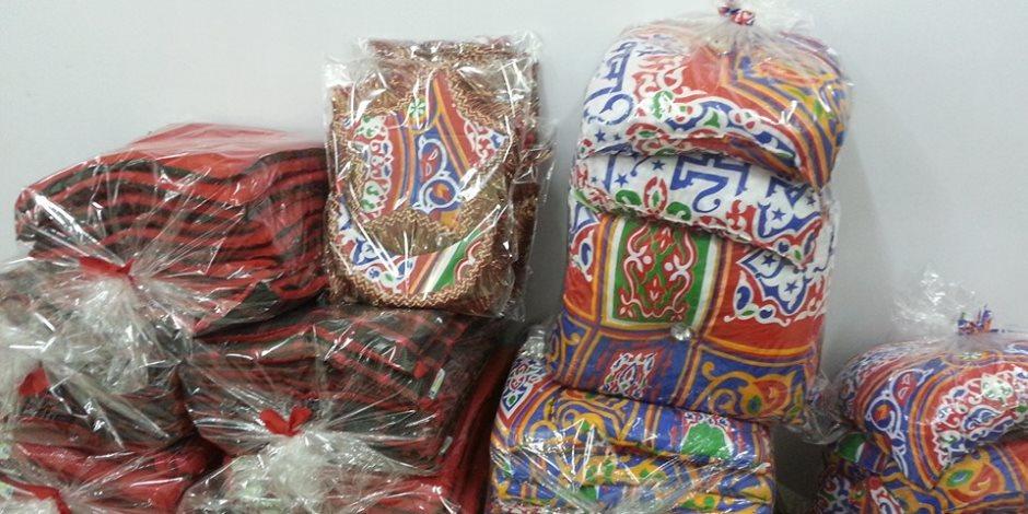 هنا «المؤسسة الخضراء».. النساء والشباب تصنع زينة رمضان من المخلفات الصناعية (صور)