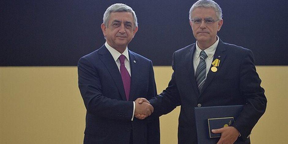 """رئيس الهيئة الوطنية الأرمينية يكشف لـ""""صوت الأمة"""" سبب جديد حول قطع العلاقات مع تركيا"""