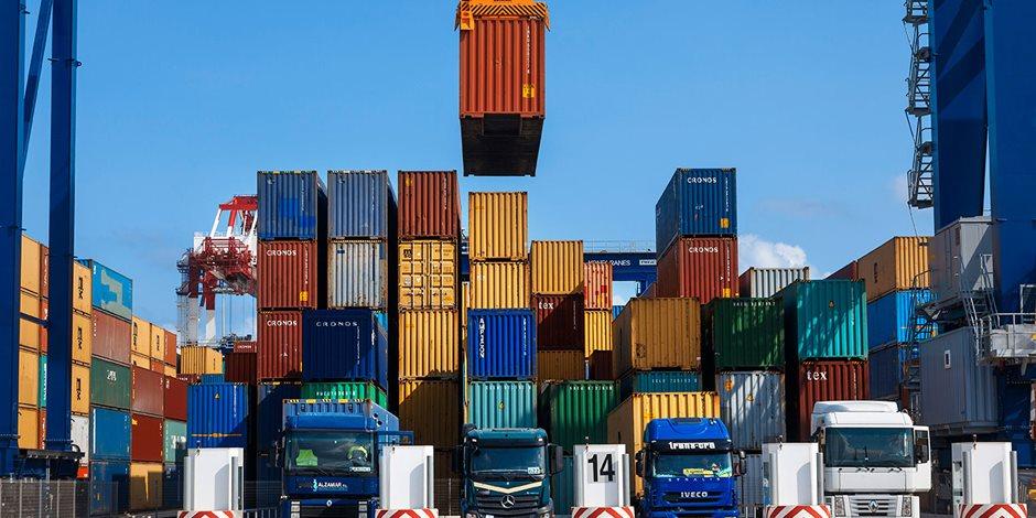 تقرير حكومي يكشف.. 122 مليار جنيه قيمة الصادرات المصرية لـ 9 أسواق عالمية في الربع الأول