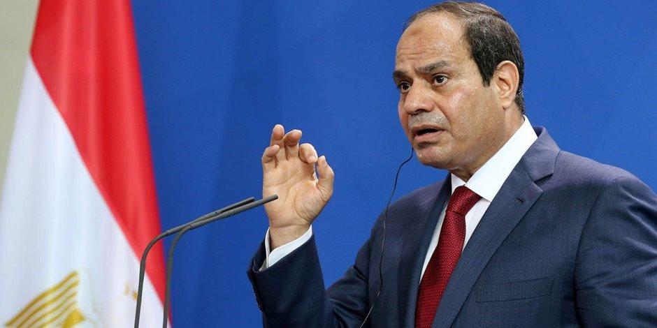 ملك البحرين يمنح الرئيس السيسي وسام الشيخ عيسى آل خليفة