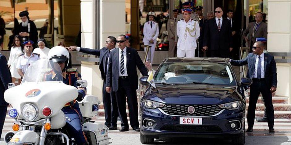 Fiat tipo.. السيارة التي استأمنها بابا الفاتيكان على حياته في مصر