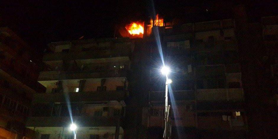 أشعل النار داخل شقته لخلافات مع زوجته بالإسكندرية.. والحصيلة: وفاة 2 وإصابة 10 بينهم شرطي