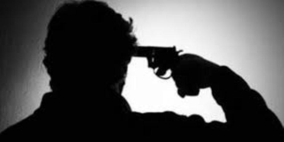 عامل يطلق النار على نفسه بسبب خلافات مالية مع والده بسوهاج