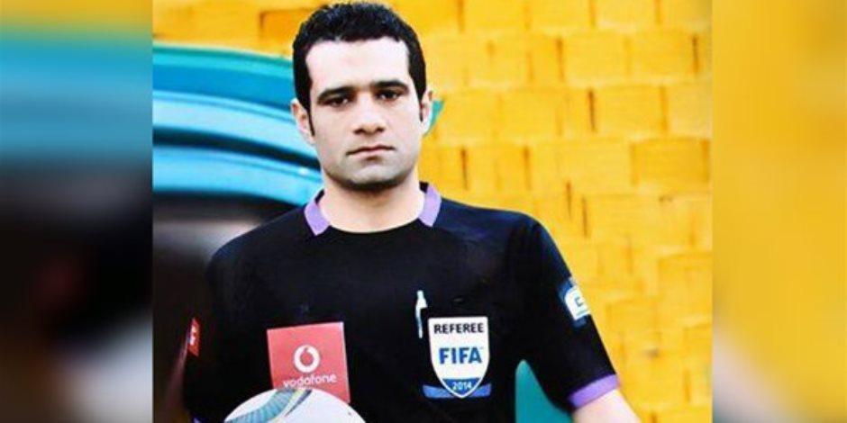 """""""البنا"""" حكما لمباراة الأهلي وسموحة في نصف نهائي كأس مصر"""