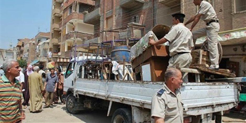 «كابوس يؤرق محافظ القاهرة».. العاصمة تُقسم إشغالاتها إلى نِسَب مئوية للتغلب عليها