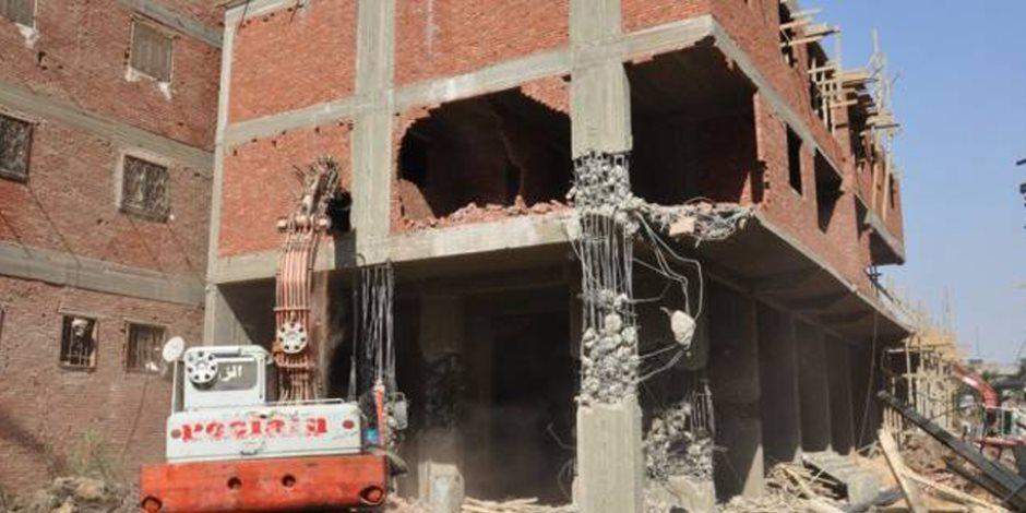 محافظة القاهرة تكثف إزالة التعديات على أملاك الدولة بالبساتين ومدينة نصر