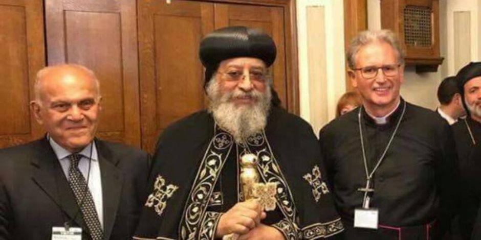 عاجل.. البابا تواضروس ومجدي يعقوب يزوران مجلس اللوردات البريطاني