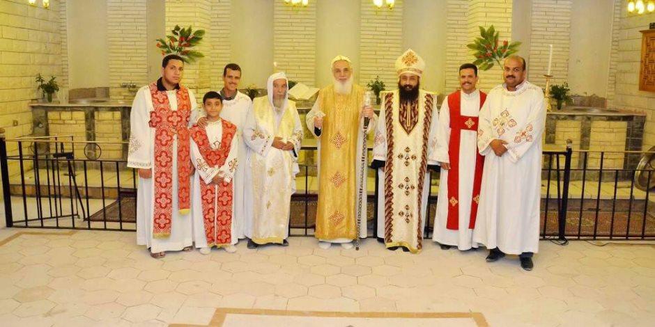 الكنيسة تحتفل مع أقباط مصر ببدء صوم الميلاد وعيد القديس مارمينا العجائبى