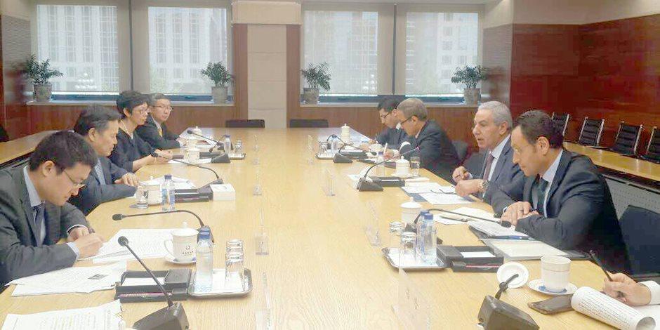 طارق قابيل: الصين تستثمر 150 مليار دولار فى الدول المطلة على طريق الحرير
