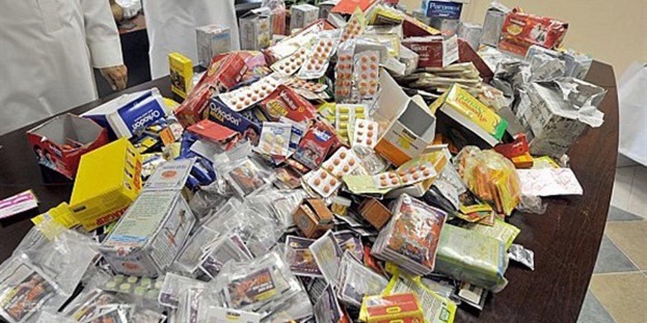 صحة الشرقية: ضبط 5 صيدليات مخالفة ومخزن أدوية بدون ترخيص بكفر صقر