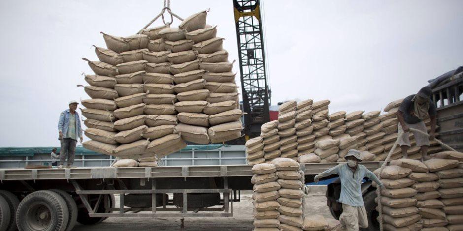 تصدير الأسمنت إلى السودان عبر هيئة وادي النيل للملاحة النهرية
