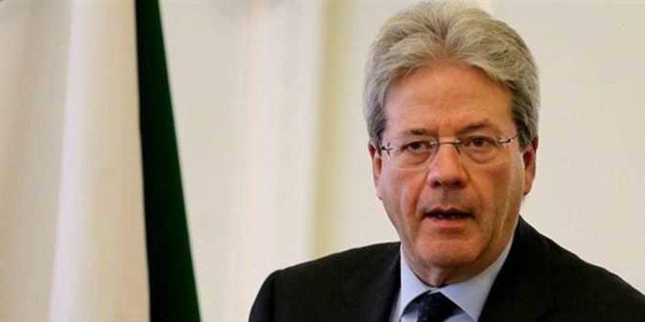 رئيس الوزراء الإيطالي: لن تقبل دروسا أو تهديدات كتلك التي سمعناها من جيراننا