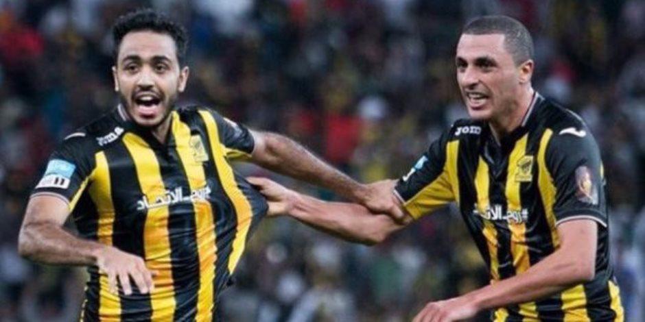 الشوط الأول.. التعادل الإيجابي يسيطر على مواجهة الاتحاد والهلال في الدوري السعودي