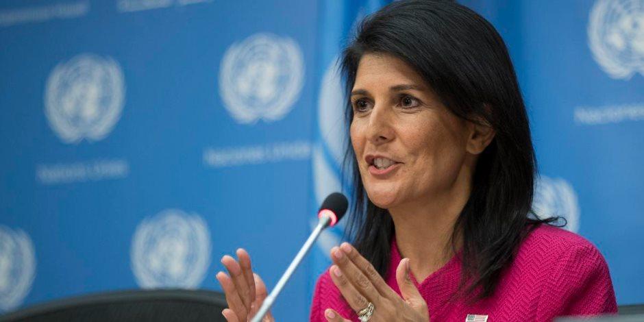مندوبة أمريكا نيكي هيلي المثيرة للجدل خارج الأمم المتحدة.. استقالة أم إقالة؟