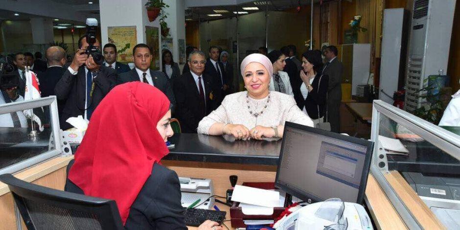 زوجة الرئيس السيسي تتبرع لصندوق «تحيا مصر» (صور)