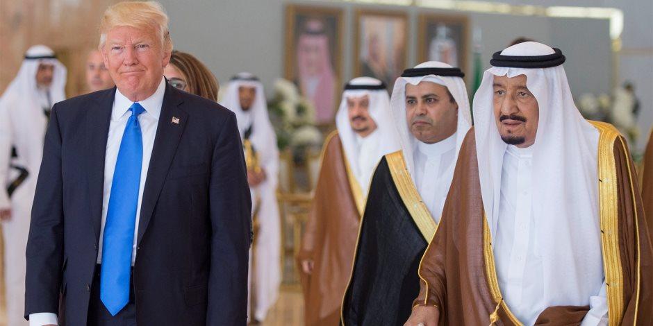 العاهل السعودي يؤكد لترامب موقف المملكة الثابت تجاه فلسطين