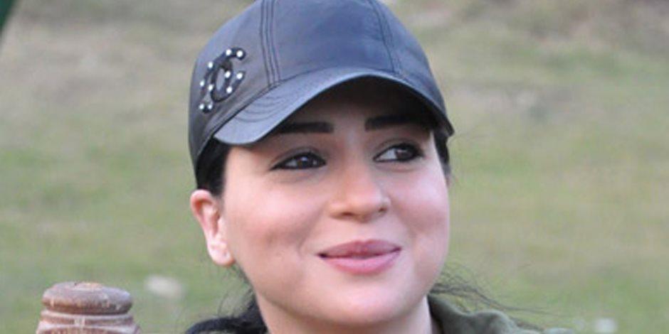 """مي عز الدين تصور مسلسلها """"رسايل"""" في استديو المسلمي"""
