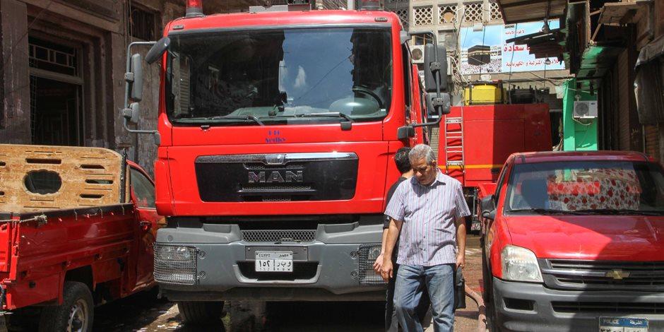 الحماية المدنية تسيطر على حريقين في الشرقية