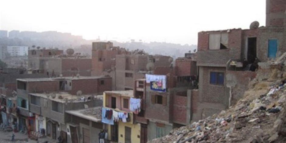 «القاهرة» تستمر في حصر منازل الخطورة الداهمة بـ «عزبة العرب»