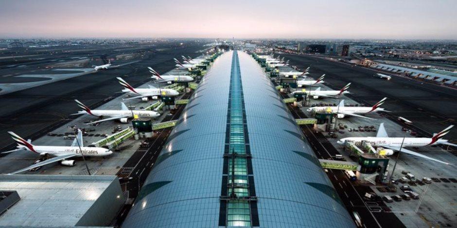 نمو حركة نقل الركاب عبر مطار دبى الدولى 1.9% فى مايو