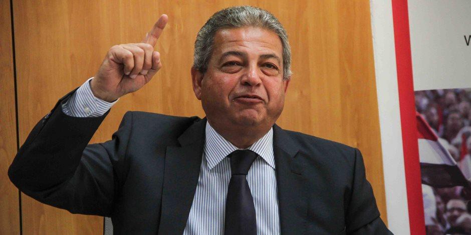 وزير الشباب يؤكد أهمية المشاركة السياسية في الانتخابات الرئاسية