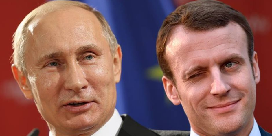 """هذا ما قاله ماكرون لـ""""بوتين"""" بشأن الأوضاع في سوريا"""