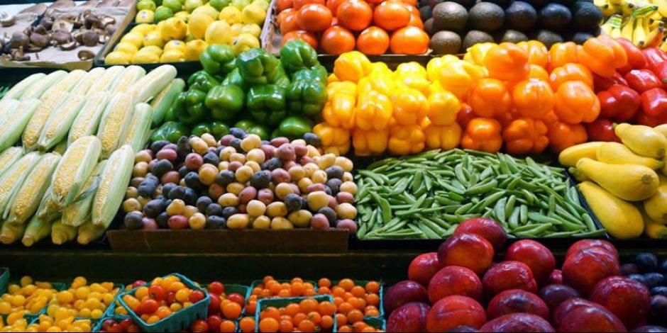 أسعار الخضروات والفاكهة اليوم الجمعة 27-10-2017 في سوق العبور