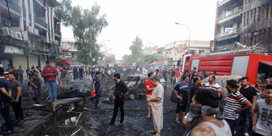 السفارة الأمريكية بالعراق تدين تفجير بغداد الإرهابي