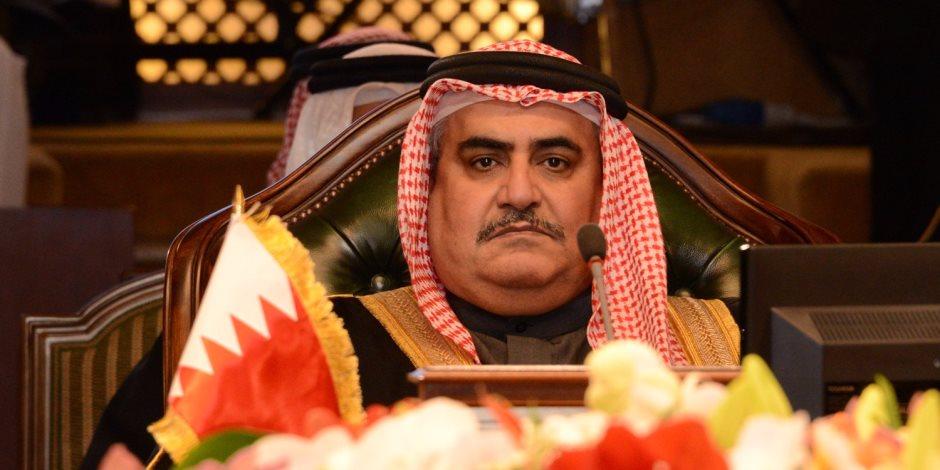 وزير خارجية البحرين: قطر تستهدف الإضرار بالسعودية قيادة وشعبا.. ويؤكد: سيفشلون