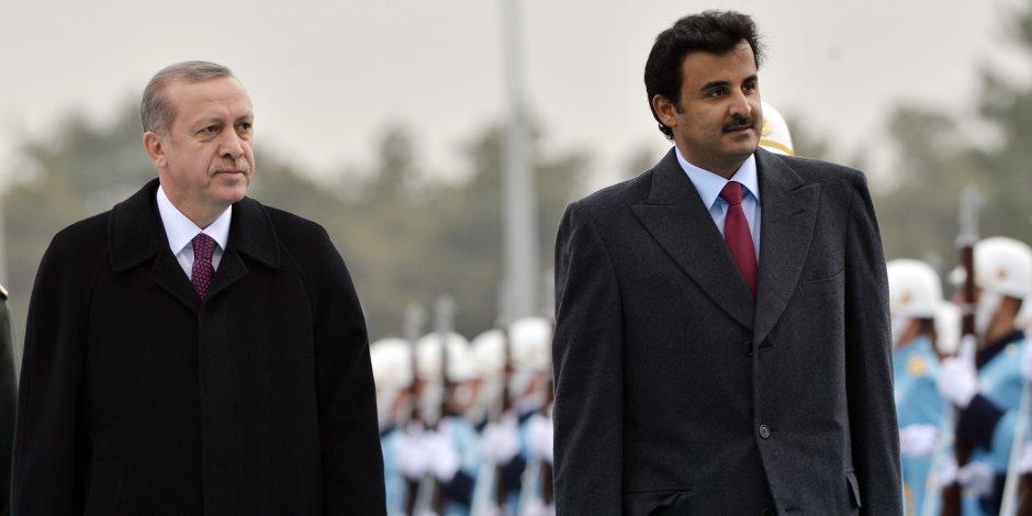 هل تسند نواية قطر «زير تركيا»؟.. أمير الإرهاب في الدوحة يتحرك لدعم سيده في أنقرة