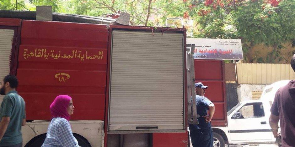 إخماد حريق داخل مطعم في الدقى دون إصابات
