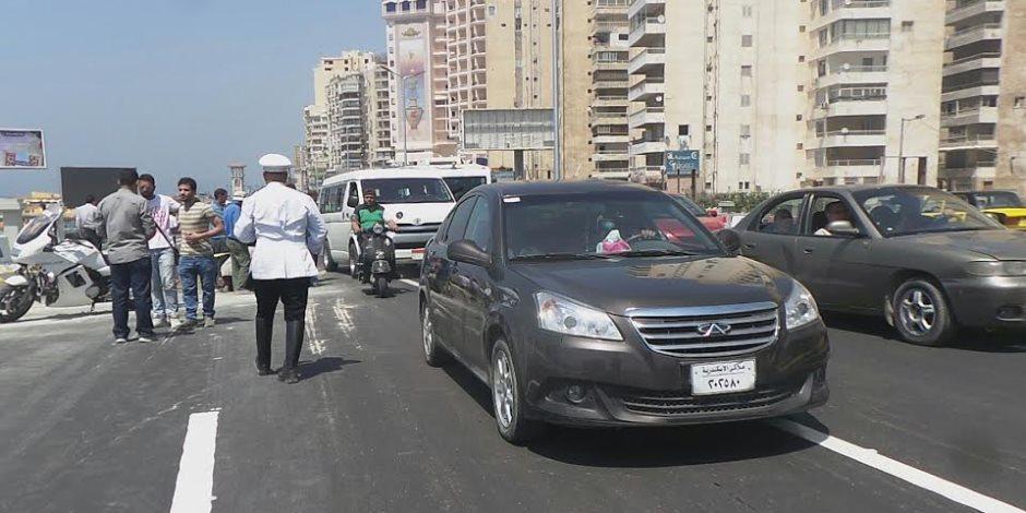 تحرير 362 مخالفة مرورية وضبط سائقين لتعاطيهما المخدرات خلال حملة مرورية بمطروح