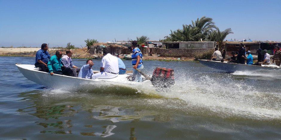 «بحيرة المنزلة».. بين سندان الفساد ومطرقة التطهير (صور)