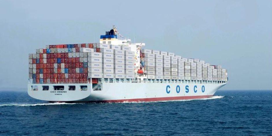 اليوم..ثان أكبر سفينة حاويات في العالم تعبر قناة السويس