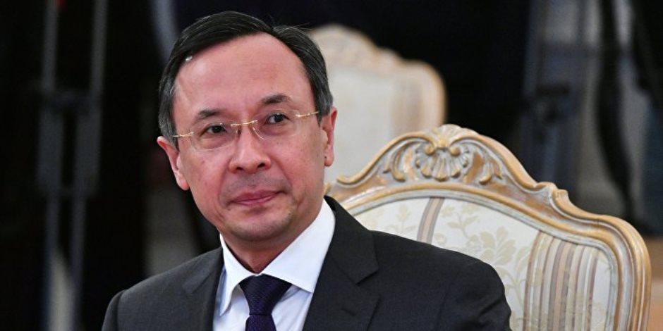 وزير خارجية كازاخستان : نأمل أن تولى واشنطن اهتماما بمناطق تخفيف التوتر بسوريا