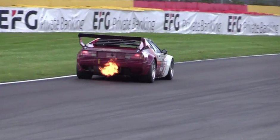 فيديو مثير لبى أم دابليو M1 على حلبة سباقات