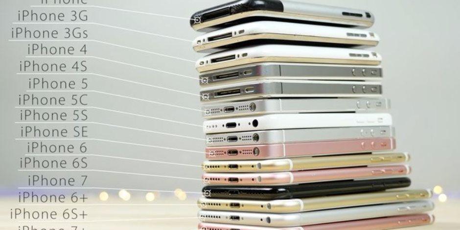 فى الذكرى العاشرة لأول هواتف آبل.. الشركة أنتجت 15 هاتف باسم آيفون والـ16 فى الطريق