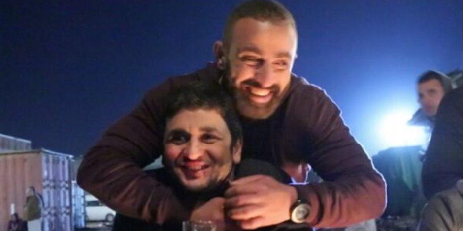 مصطفى خاطر لأحمد السقا: حبيبي وأستاذي وأخويا الكبير