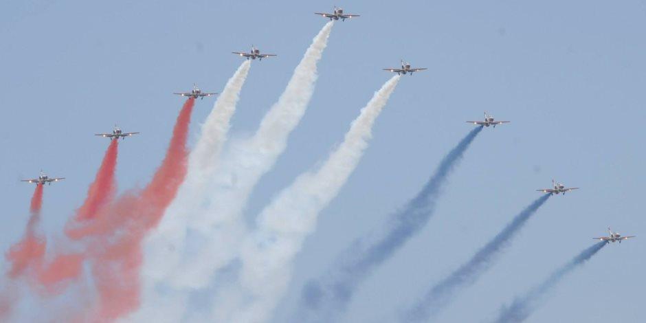 هل تأثرت حركة الطيران بعروض القوات الجوية؟ سلطات المطار تجيب