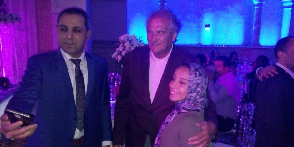 شاهد.. جوزية فى حفل زفاف كريمة احمد ناجي (صور)