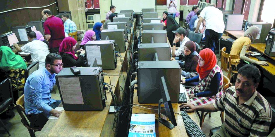 96 طالب وطالبة تقدموا للتنسيق بالمرحلة الأولى بجامعة سوهاج