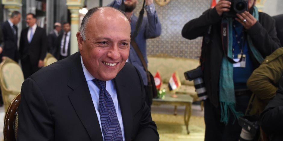 """الخارجية تطلق حملة """"كلنا سفراء لمصر"""" بمناسبة يوم الدبلوماسية المصرية"""