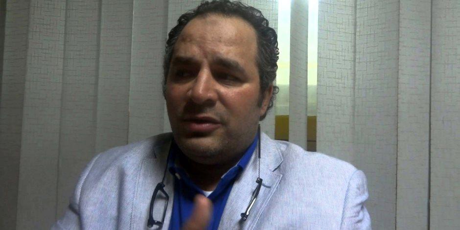 رئيس برزينتيشن يتعرض لحالة إغماء عقب مباراة مصر وأوغندا (فيديو)