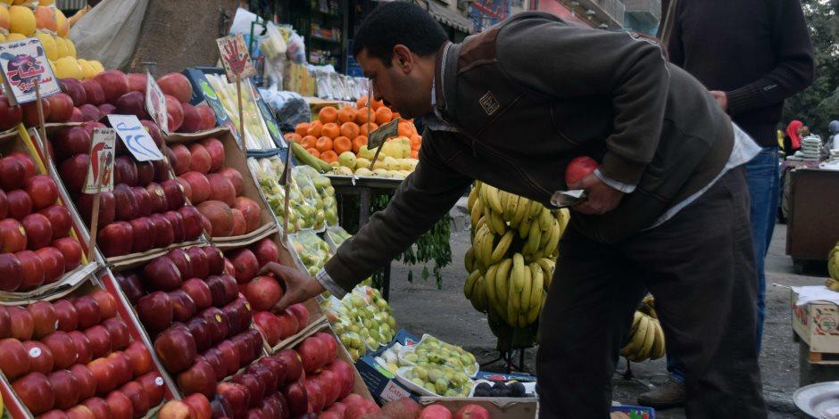 أسعار الخضروات والفاكهة اليوم الخميس 26-10-2017 في سوق العبور